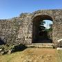 南の郭から一の郭への門跡