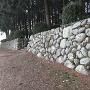 石垣(東側)
