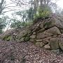 釣井の段の石垣
