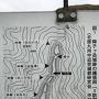 縄張図@案内板(抜粋)