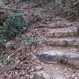 竹田城への登り