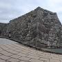 中門跡の石垣