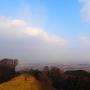 阿坂城主郭からの眺望