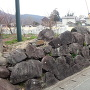 内牧城 2の丸石垣①