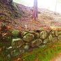本丸石垣跡