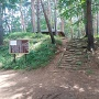 林城の本丸跡