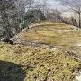 鈴尾城 本丸跡と眺望