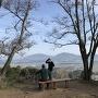 許斐山頂上と眺望