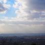 主郭から見る竹生島