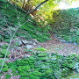 石垣(裏坂銀明水付近)