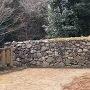 元からあった石垣
