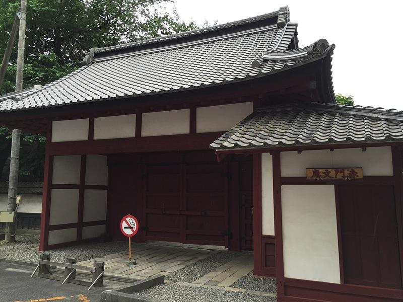 桜丸門(赤門)跡
