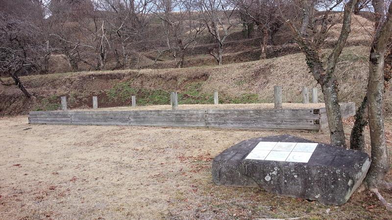 田中城 弾正屋敷 建物跡