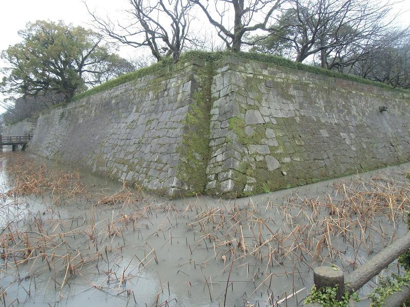 北東面の石垣